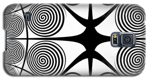 Spiral Abstract 7 Colour Choice Galaxy S5 Case