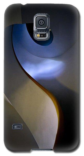 Spiral Concrete Modern Staircase Galaxy S5 Case