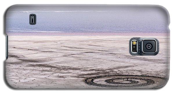 Spiral Jetty - Great Salt Lake - Utah Galaxy S5 Case