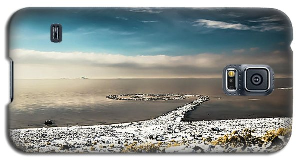Spiral Jetty In Winter Galaxy S5 Case
