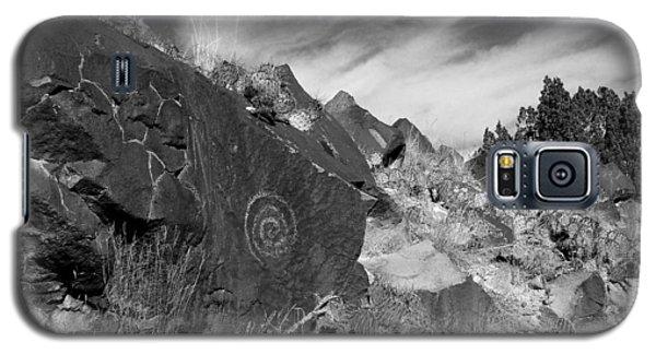 Spiral Petroglyph Galaxy S5 Case
