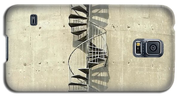 Galaxy S5 Case - Spiral Staircase by Julie Gebhardt
