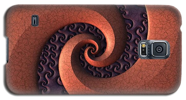Galaxy S5 Case featuring the digital art Spiralicious by Lyle Hatch