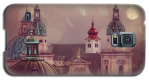 Spires Of Salzburg  Galaxy S5 Case by Carol Japp