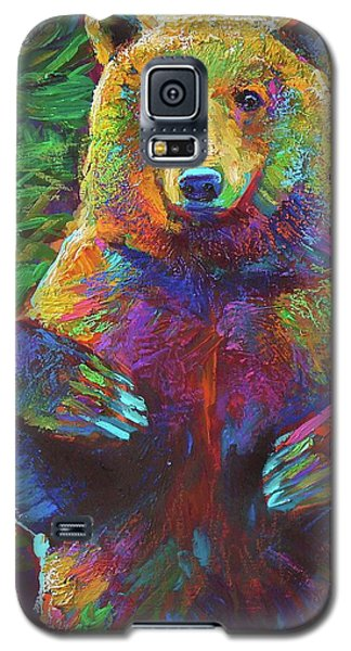 Galaxy S5 Case featuring the painting Spirit Bear by Robert Phelps