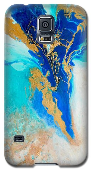 Galaxy S5 Case featuring the painting Spirit Dancer by Irene Hurdle