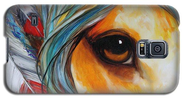 Spirit Eye Indian War Horse Galaxy S5 Case