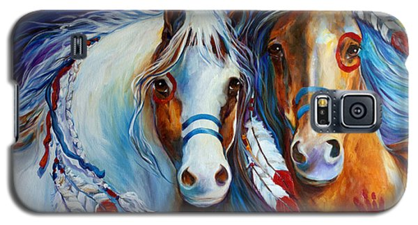 Spirit Indian War Horses Commission Galaxy S5 Case
