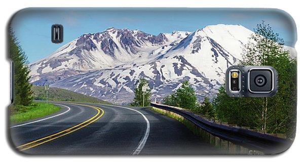 Spirit Lake Highway To Mt. St. Helens Galaxy S5 Case