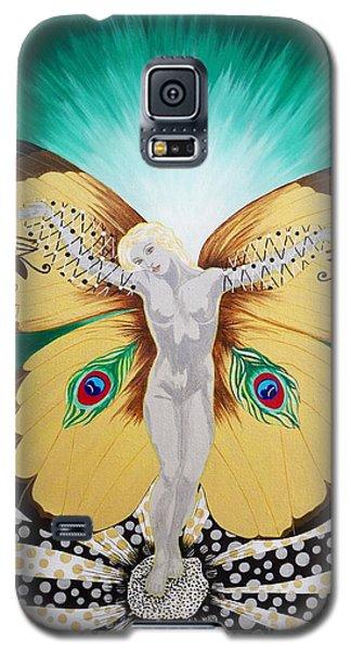Blaa Kattproduksjoner             Spirit Of Aurelias Flight Galaxy S5 Case