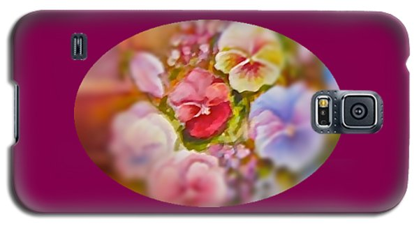 Galaxy S5 Case featuring the painting Spirit Petals by Patricia Schneider Mitchell