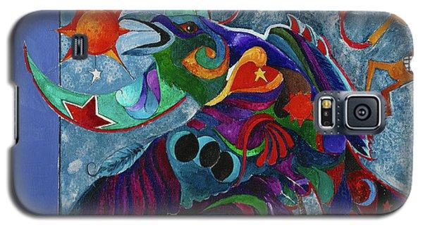Spirit Raven Totem Galaxy S5 Case