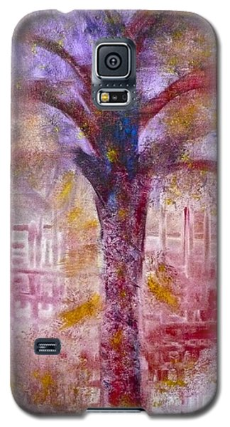 Galaxy S5 Case featuring the painting Spirit Tree by Claire Bull