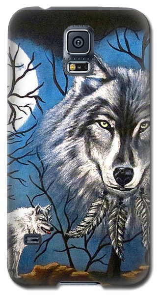 Spirit Wolf Galaxy S5 Case