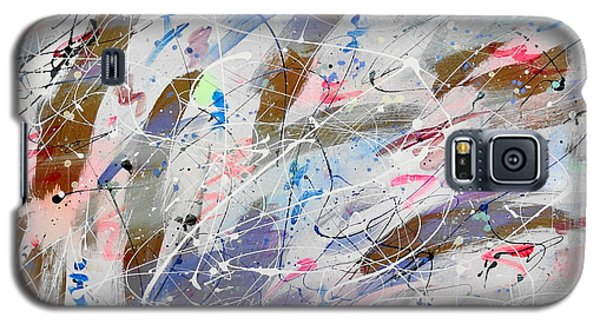 Galaxy S5 Case featuring the painting Spirits Dancing by Patrick Morgan