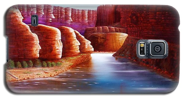 Spirits Of The River Galaxy S5 Case by Gene Gregory