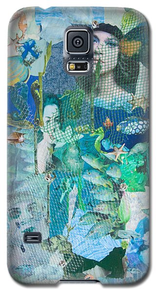 Spirits Of The Sea Galaxy S5 Case by Sandy McIntire