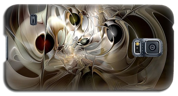 Galaxy S5 Case featuring the digital art Spiritual Chops by Casey Kotas