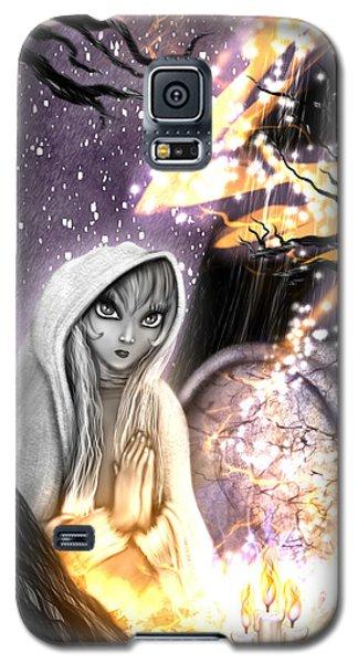 Spiritual Ghost Fantasy Art Galaxy S5 Case