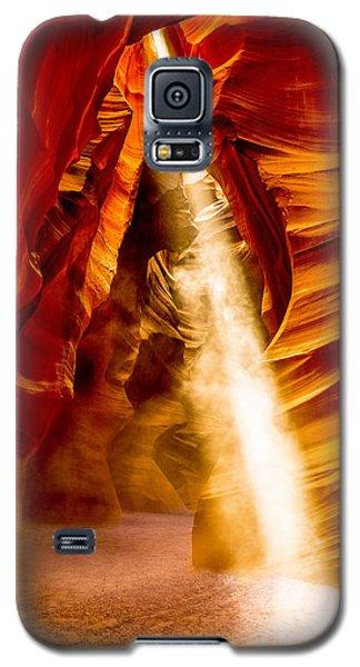 Spirit Light Galaxy S5 Case by M G Whittingham