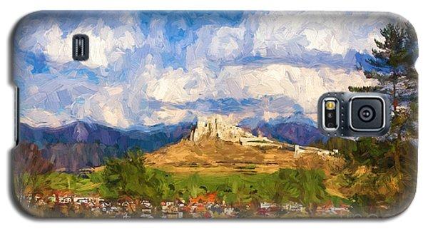 Castle Above The Village Galaxy S5 Case