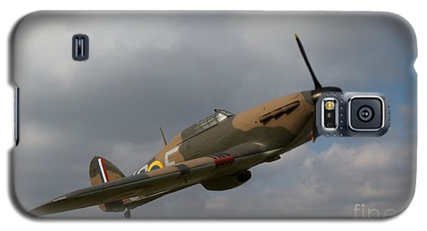 Galaxy S5 Case featuring the photograph Spitfire by Gary Bridger