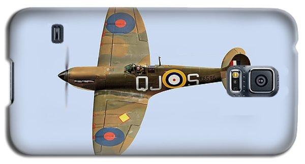 Spitfire Mk 1 R6596 Qj-s Galaxy S5 Case