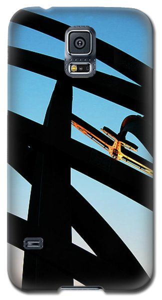 Spitfire On Fire Galaxy S5 Case