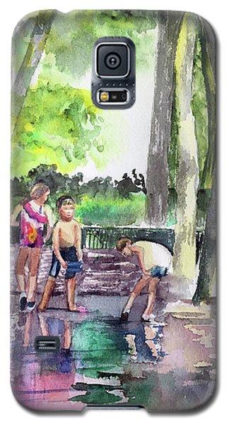 Splash In Battery Park Galaxy S5 Case
