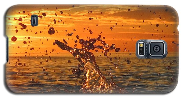 Galaxy S5 Case featuring the photograph Splash by Linda Hollis