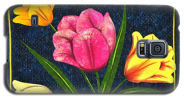 Splash Of Tulips Galaxy S5 Case