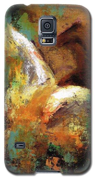 Splash Of White Galaxy S5 Case