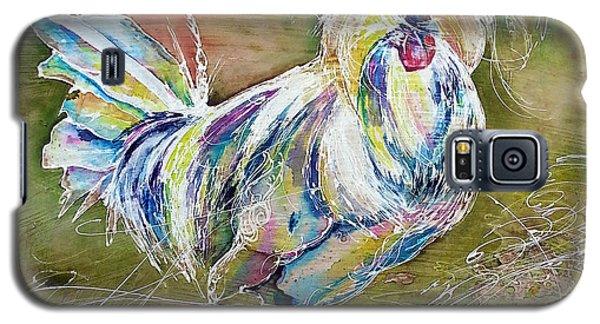 Splash White Polish Chicken Galaxy S5 Case