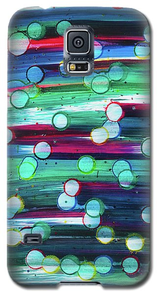 Galaxy S5 Case featuring the painting splatterdash No.2 by Tom Druin