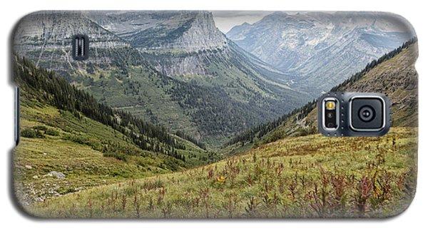 Splendor From Highline Trail - Glacier Galaxy S5 Case