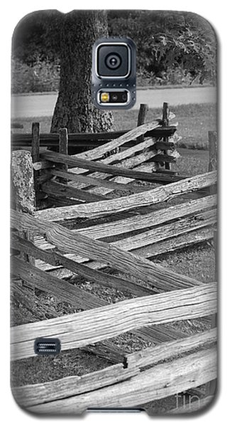 Galaxy S5 Case featuring the photograph Split Rail Fence by Eric Liller