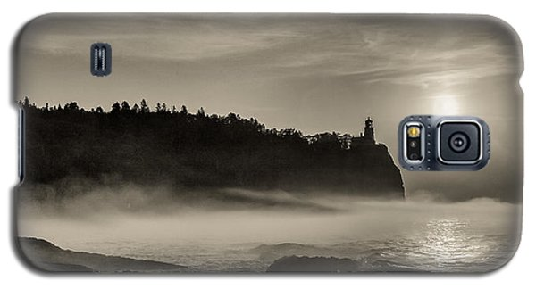 Split Rock Lighthouse Emerging Fog Galaxy S5 Case