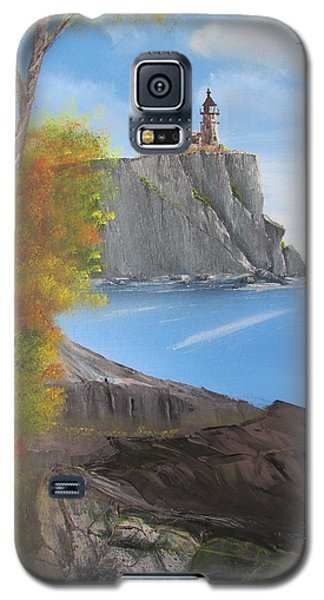 Split Rock Lighthouse Minnesota Galaxy S5 Case