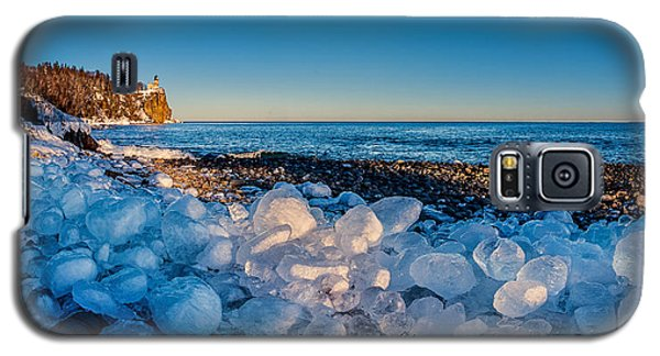 Split Rock Lighthouse With Ice Balls Galaxy S5 Case