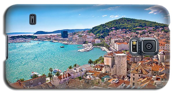 Split Waterfront And Marjan Hill View Galaxy S5 Case