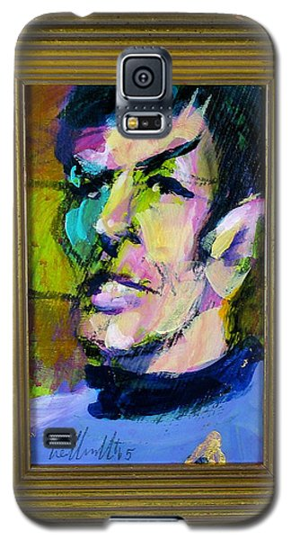 Spock Galaxy S5 Case by Les Leffingwell