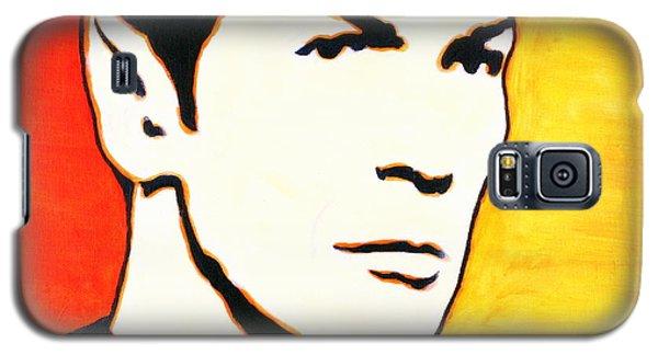 Spock Vulcan Star Trek Pop Art Galaxy S5 Case by Bob Baker