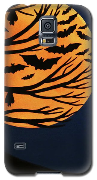 Spooky Bat Tree Galaxy S5 Case