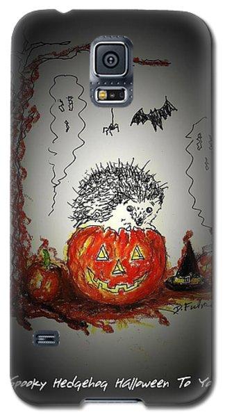 Spooky Hedgehog Halloween Galaxy S5 Case