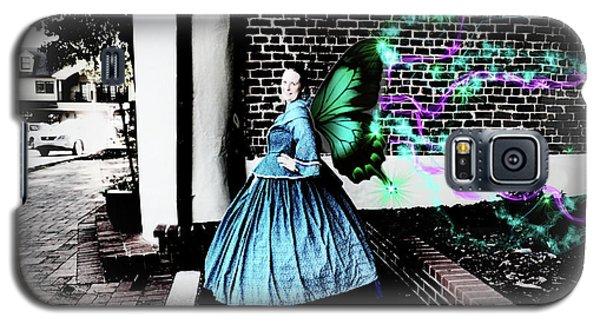 Spooky Historic Butterfly Dahlonega  Galaxy S5 Case