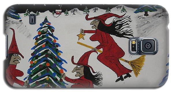 Spooky Merry Christmas Galaxy S5 Case by Jeffrey Koss