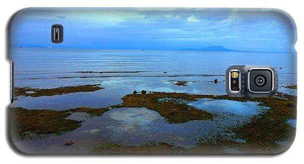 Spooky Morning Tide Receded From Beach Galaxy S5 Case