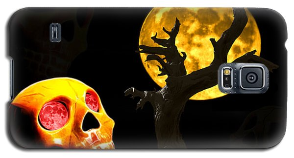 Galaxy S5 Case featuring the photograph Spooky Night by Shane Bechler