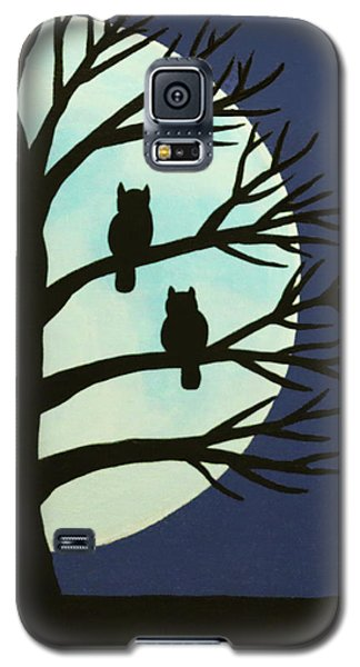 Spooky Owl Tree Galaxy S5 Case