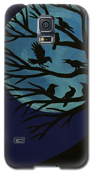 Spooky Raven Tree Galaxy S5 Case